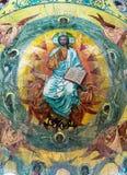 Chiesa del salvatore su anima rovesciata mosaico nel Na centrale Fotografia Stock Libera da Diritti