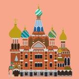 Chiesa del salvatore sul sangue Spilled, stpetersburg Russia Immagine Stock