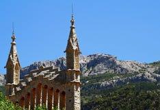 Chiesa del san Bartholomew in Soller Fotografie Stock