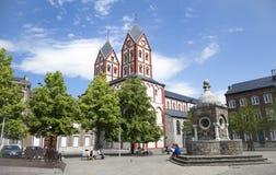 Chiesa del san Bartolomy a Liegi Fotografia Stock