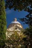 Chiesa del san Biagio, Montepulciano, Italia fotografia stock
