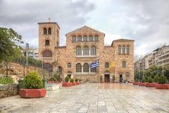 Chiesa del san Demetrius thessaloniki immagini stock