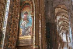 Chiesa del san-Eustache a Parigi fotografia stock libera da diritti