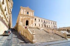 Chiesa del san Francis Immaculate nel Noto, Sicilia, Italia Fotografia Stock