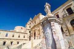 Chiesa del san Francis Immaculate nel Noto, Sicilia, Italia Fotografie Stock