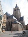 Chiesa del san Jacob, Bruges immagini stock