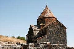 Chiesa del san Karapet di Sevanavanq in Armenia Immagine Stock Libera da Diritti