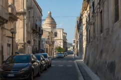 Chiesa del Santissimo Crocifisso kyrka av korset in inte Royaltyfria Bilder