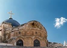 Chiesa del sepolcro santo immagine stock