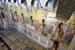 Chiesa del sepolcro santo, Gerusalemme Fotografie Stock