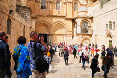 Chiesa del sepolcro santo gerusalemme Fotografia Stock Libera da Diritti