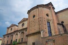 Chiesa del sepolcro santo. Piacenza. L'Emilia Romagna. L'Italia. Fotografia Stock Libera da Diritti