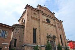 Chiesa del sepolcro santo. Piacenza. L'Emilia Romagna. L'Italia. Fotografie Stock