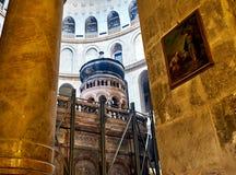 Chiesa del Sepulchre santo a Gerusalemme Fotografie Stock Libere da Diritti