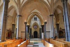 Chiesa del tempiale a Londra Fotografie Stock