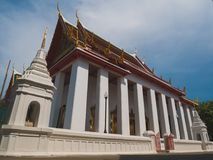 Chiesa del tempio buddista tailandese Immagini Stock Libere da Diritti