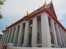 Chiesa del tempio buddista tailandese Fotografia Stock