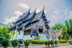 Chiesa del tempio di Chedi Luang. Fotografia Stock Libera da Diritti