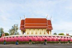 Chiesa del tempio tailandese Fotografia Stock Libera da Diritti