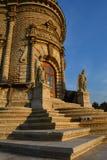 Chiesa del Theotokos del segno (Dubrovitsy) Fotografie Stock