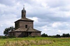 Chiesa del vecchio paese Immagine Stock Libera da Diritti