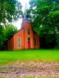 Chiesa del vecchio paese fotografia stock libera da diritti