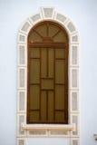 Chiesa del vetro macchiato del presupposto in Pomorie, Bulgaria Immagini Stock Libere da Diritti