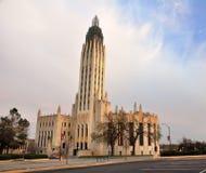 Chiesa del viale di Boston Fotografie Stock Libere da Diritti