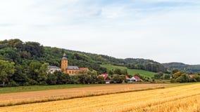 Chiesa del villaggio Immagini Stock