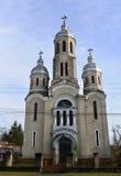 Chiesa del villaggio di Barzava Immagine Stock Libera da Diritti