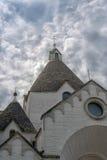 Chiesa del villaggio di Trullo Immagine Stock