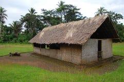 Chiesa del villaggio in Papuasia Nuova Guinea Fotografia Stock