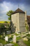 Chiesa del XI secolo Fotografie Stock