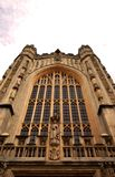 Chiesa dell'abbazia del bagno nel bagno, Somerset, Inghilterra fotografie stock