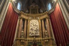 Chiesa dell'altare Fotografie Stock Libere da Diritti