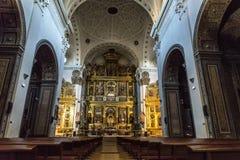 Chiesa dell'altare Fotografia Stock