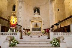 Chiesa dell'altare in Ragusa Fotografia Stock Libera da Diritti
