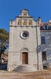 Chiesa dell'ambasciata Austriaco-ungherese in Cetinje, Montenegro Fotografie Stock Libere da Diritti