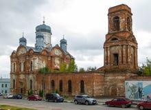 Chiesa dell'arcangelo Michael Città di Elec fotografia stock libera da diritti