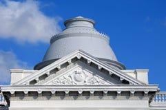 Chiesa dell'Arkansas con la cupola rotonda Fotografie Stock