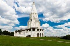 Chiesa dell'ascensione in Kolomenskoye, fotografie stock libere da diritti