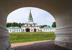 Chiesa dell'ascensione, Kolomenskoye, Rusia fotografia stock libera da diritti