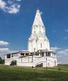 Chiesa dell'ascensione nella Museo-riserva Kolomenskoy di Mosca immagini stock