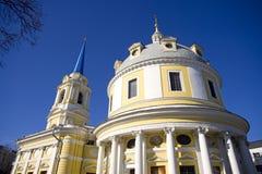 Chiesa dell'ascensione sul campo Mosca di Gorokhovoe fotografia stock libera da diritti