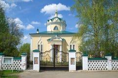 Chiesa dell'ascensione in Yakhroma, Russia immagine stock