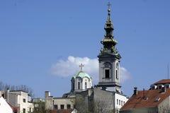 Chiesa dell'assemblea a Belgrado fotografia stock libera da diritti