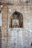 Chiesa dell'entrata del signore in Gerusalemme immagini stock