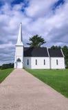 Chiesa dell'iarda del Brown, Nuovo Brunswick Immagini Stock