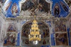 Chiesa dell'icona di Theodorovskaya della madre di Dio del diciannovesimo secolo in Uglic, Russia Fotografie Stock Libere da Diritti