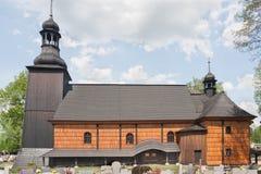 Chiesa dell'indulgenza dedicata alla trinità santa in KoszÄ™cin Fotografia Stock Libera da Diritti